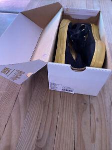 Vans Harry Potter Golden Snitch Shoes EUC Size 3