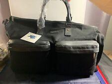 Hook & Albert, The Garment Weekender Bag, Duffel Bag, Canvas, BLACK, NWT SEE PIC