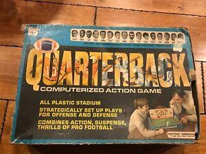 VINTAGE 1970 QUARTERBACK NFL FOOTBALL COMPUTERIZED ACTION GAME