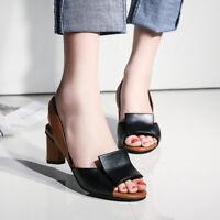 Fashion Designer Sandals Women's Casual Slingbacks Peep Toe Kitten Heels Shoes