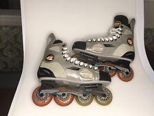 Bauer Vapor Pro inline hockey skates Tuuk Shifter Skate Size Us 9R. Excellent.