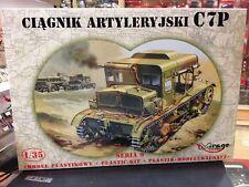 Kit maqueta tractor Artilery Jski C7p 1 35 Mirage hobby 35901