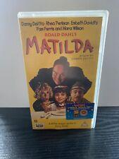 Matilda VHS Video Retro Tape