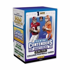 2021 Panini Contenders Draft Picks NFL Football Blaster Box 42 Cards New Sealed