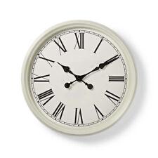 Wanduhr 50 cm Antik Wei�Ÿ Wohnzimmeruhr Küchenuhr Büro Uhr Esszimmer Wanduhren