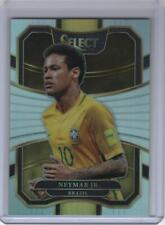 2017-18 Panini Select Soccer Neymar Jr Silver Prizm