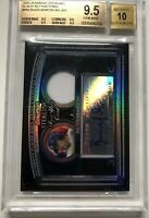 2005 Bowman Sterling Russ Martin Black Refractor Jersey Auto /25 BGS 9.5/10 *RC*