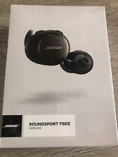 Bose SoundSport Free Truly Wireless Headphones Black Bluetooth Apple iPhone X 11