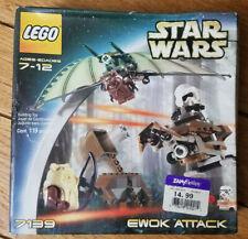 Lego Star Wars Episode IV-VI Ewok Attack (7139)