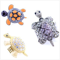 Art Deco vintage style tortoise / turtle charm ring multiple choices