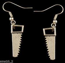 "Hand Made ""Saw"" Earrings HCE171"