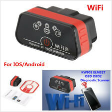ELM327 KW901 ODB2 OBDII Car Code Reader WiFi Scanner Diagnostic For iOS Android