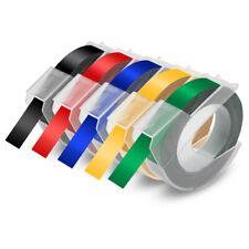 5pk 3d Label Tape For Dymo Embossing Tape Organizer Xpress Label Maker 38 9mm
