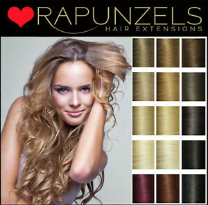 I-Tip hair extensions micro ring shrink tube bead human remy hair - Rapunzels UK