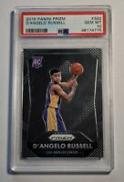 2015 Panini Prizm D'Angelo Russell ROOKIE RC #322 PSA 10 GEM MINT HOT INVEST!