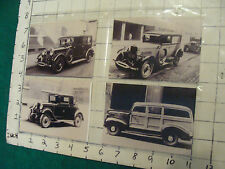 vintage AT&T 4 small Photos of Cars #9, all repros,