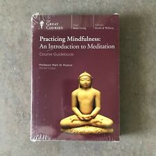 The Great Courses Practicing Mindfulness 4 Dvd Set - New Sealed