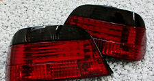 Red smoked finish lightbar rear tail lights for BMW E38 7 Series 94-2001