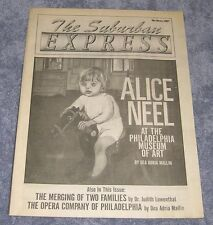 ALICE NEEL ~ SUBURBAN EXPRESS  MAGAZINE ~ COVER STORY ~ MUSEUM OF ART PAINTING