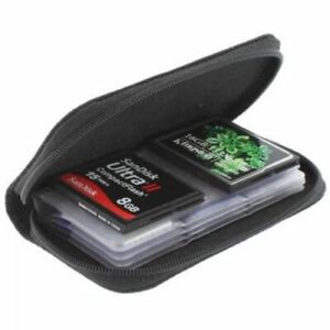 Memory Card Holders Nylon Solid Carrying Pouch Case Wallet SD SDHC MMC MicroSD