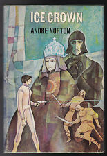 Andre Norton - Ice Crown - 1st 1970 Viking, Book Club Dustwrapper - Nice Copy