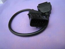 Opel Vauxhall 10 Pin to 16 Pin OBD2 Diagnostic Adapter Cable