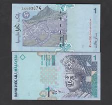 Malaysia 1 Ringgit (1998) Replacement ZA Banknote P39b Zeti Sign - UNC