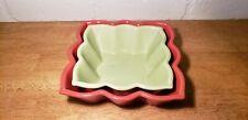 New listing Chantal Bakeware Bowls Set Of 2 Rust And Green