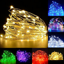 LED String Fairy Light Copper Wire Home Party Indoor Outdoor Wedding Decor Light