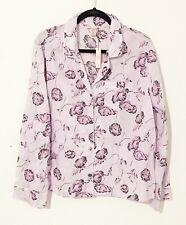 Victoria's Secret Lounge Sleepwear Pink Floral Long Sleeve Sleep Shirt X- Large