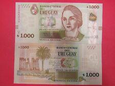 Uruguay -1000 Pesos 2015  Banknote Uncirculated