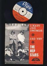 ABBA - The Hep Stars - Jag Vet -  I Natt Jag Drömde - 7 Inch Vinyl - SWEDEN