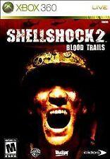 Shellshock 2 Blood Trails Xbox 360 Rare War Video Game Shell Shock Best Price