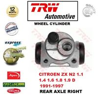 FOR CITROEN ZX N2 1.1 1.4 1.6 1.8 1.9 D TD 1991-1997 REAR Right WHEEL CYLINDER