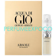 Giorgio Armani Acqua di Gio Absolu Cologne .04oz EDP Spr Travel Sample Vial (C27