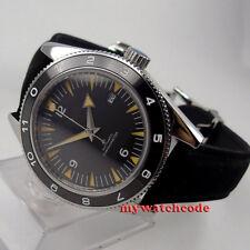 41mm corgeut black dial Saphirglas Miyota 8215 date Automatikwerk mens watch uhr