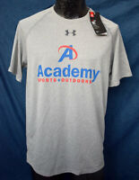 Heat Gear Men's Tee Academy Sports T-Shirt Athletic Sweat-Resistant, NWT