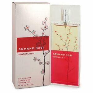 Armand Basi Sensual Red By Armand Basi 100ml EDTS Womens Perfume