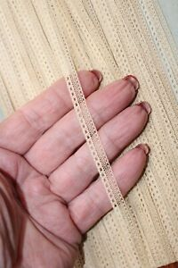 Antique Lace Trim Exquisite Beige Made in France