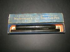 2  Waterman Ideal's with an original box for one. Both nice condition.
