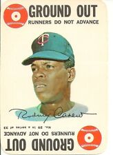 """1968 Topps Baseball """"Game"""" Card - #29 - Rod Carew - EX+ - See scans"""