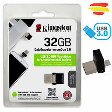 PENDRIVE KINGSTON DTDUO3/32GB 32GB MEMORIA OTG USB 3.0 32 GB PEN DRIVE MOVIL
