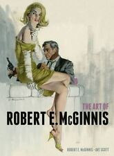 """MCGINNIS/SCOTT """"THE ART OF ROBERT E. MCGINNIS"""" 2014 1ST ED HC/DJ NF/NF GREAT PIX"""