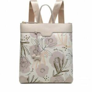 RADLEY DESERT FLORAL Medium Zip-Top Backpack, rrp: £109