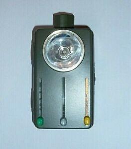Taschenlampe mit Lichtfilter grün/ gelb/ tarn; Handlampe, Lampe Bundeswehr