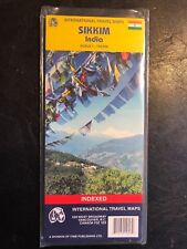 Sikkim ITMB Map 1: 140,000,  ITM International Travel Maps Road