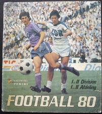 100% COMPLETED PANINI BELGIUM FOOTBALL 1980 STICKER ALBUM