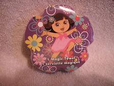 Dora The Explorer With Pretty Flowers Magic Towel