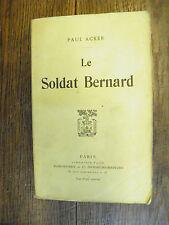 Le soldat Bernard / Paul Acker