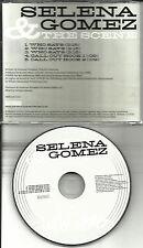 SELENA GOMEZ & the Scene Who Says REPEATED 3 Times PROMO DJ CD single USA 2011